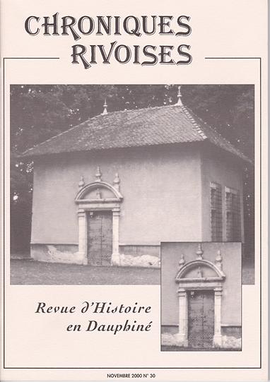 Revue n° 30 novembre 2000
