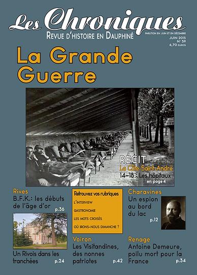 Revue N° 59 juin 2015
