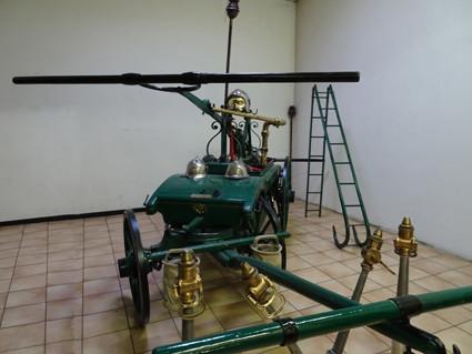 Première pompe de la compagnie des sapeurs-pompiers