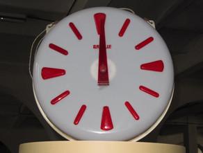 Horloge des ateliers de la papeterie PDR