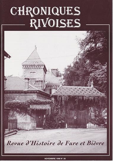Revue N° 26 novembre 1998