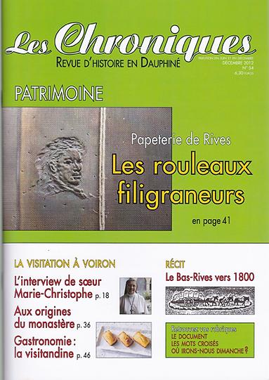 Revue N° 54 décembre 2012