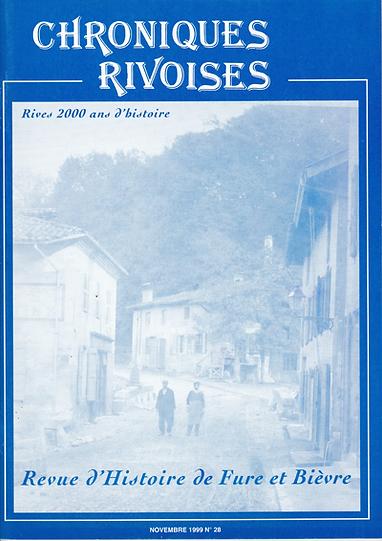 Revue N° 28 novembre 1999