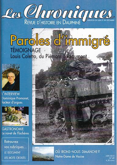 Revue N° 49 juin 2010