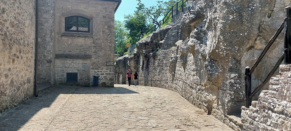 Umbriaction-St. Francis way la verna San