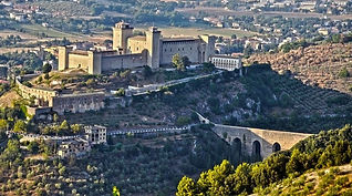 St. Francis way, Spoleto