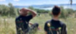 walking aroud the Trasimeno lake