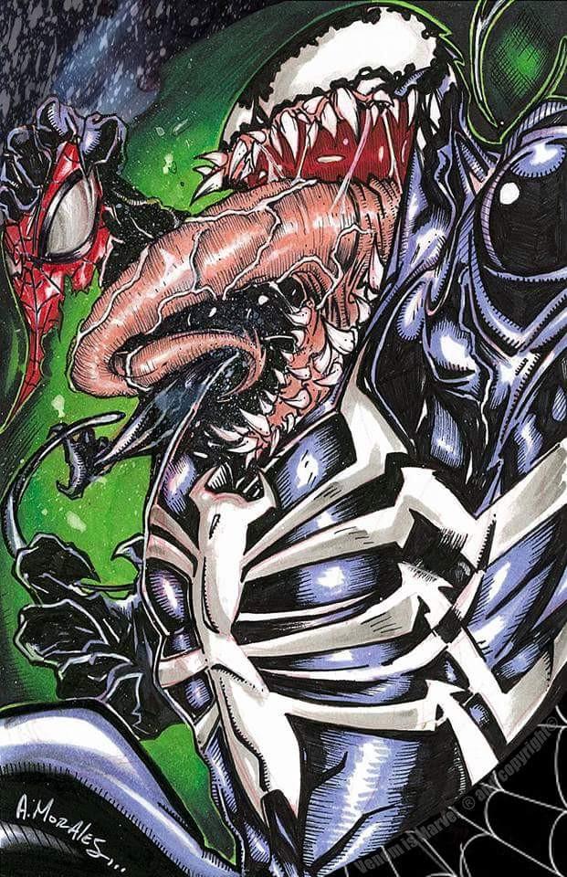 Artist: Albert Morales, Albert's favorite Venom