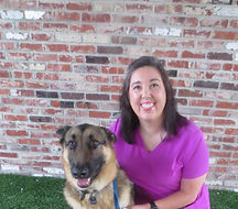 Alaina, Veterinary Assistant, German Shepherd