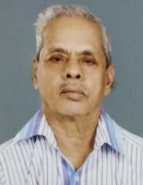 G.Pankajaksha Varier, 83, passed away(23-04-2021)