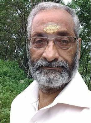 Gopalakrishna Warrier PS, 71, passed away (1-05-2021)