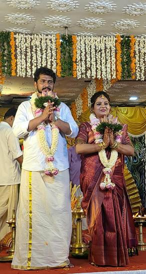 Lakshmi married Harikrishnan