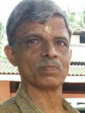 Radhakrishna Varier,61, passed away (19-12-2020)