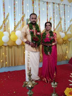 Sanoop married Kavyasree
