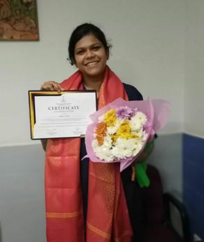 Congratulations Dr.Aparna