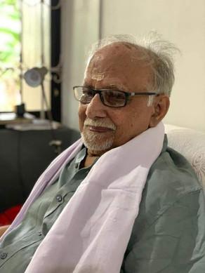 Vijayaraghava Varier,91, passed away on 27-11-2020