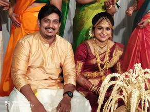 Sree Sanjana married Yedukrishnan