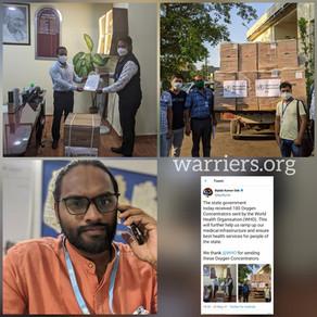 Congratulations to Dr Vinayak Warrier