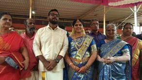 Sruthi married Manikandan