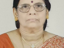 P.V .Vijayalakshmi,76, passed away (08-04-2021)