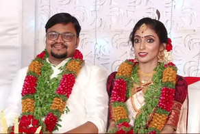 Abhiram Sankar married Gayathri