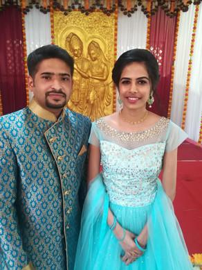 Anjana got engaged to Abhay Dev