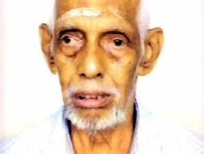 V.K.Chakrapani Warrier,83, passed away