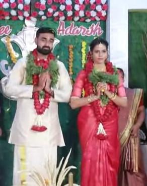 Adarsh married Jayasree (14-05-2021)