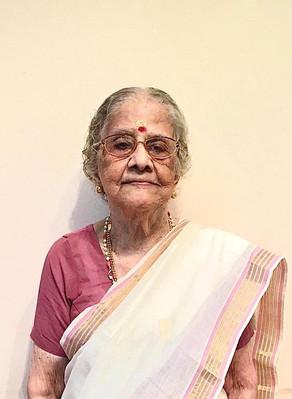 Lakshmikutty Varasyar (96) passed away