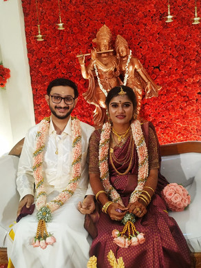 Ajoy married Sriparvathy