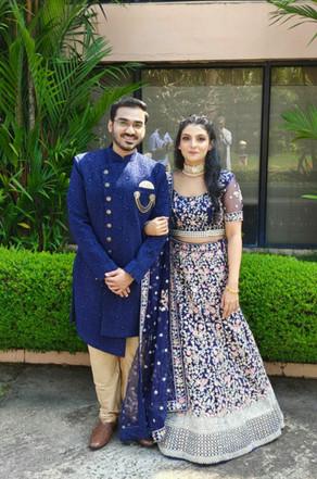 Ashray got engaged to Aiswarya