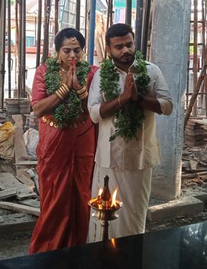 Anjana married Arun (5-5-21)