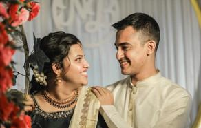 Nanditha - Balakrishna Engagement