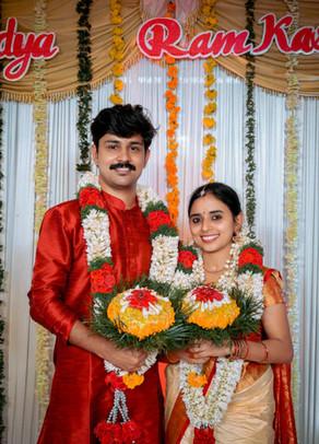 Vidya Asokan married Ram Kashyap Varma