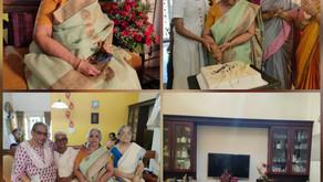 Smt.Leela Unnikrishnan - 84th Birthday