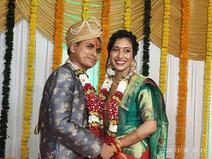 Kavitha married Gaurav Chaubey on 30-11-2020