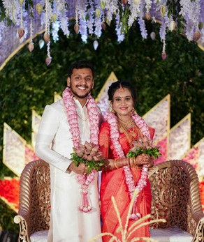 Ashwathi married Vaishakh