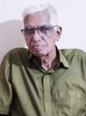 MK Krishna Warrier, 83, passed away (30-11-2020)