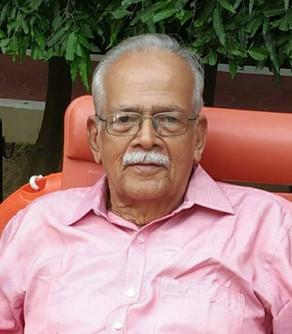 G. Chandrashekhara Warrier (GCS Warrier), 83, passed away (11-05-2021)