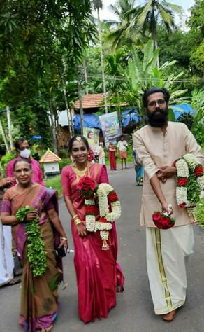 Jagadeesh married Divyashree