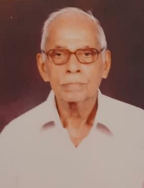 E Keshava Varier passed away (18-12-2020)