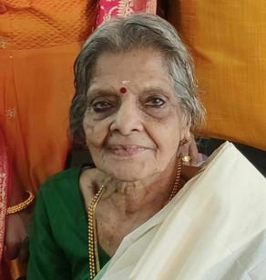 Madhavi Varasyar, 91, passed away ( 21-04-21)