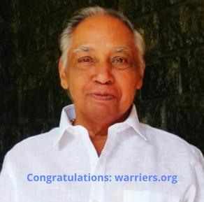 Congratulations to Kalanilayam Babu
