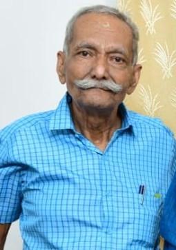 V.Chakrapani Warrier passed away