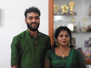 Amritha-Harikrishnan Engagement