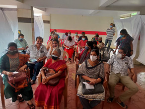 Covid Vaccination for Varier Samajam Members