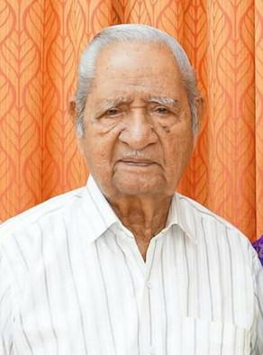 Adv. M Sreedhara Warrier, 94, passed away today (04-12-2020)