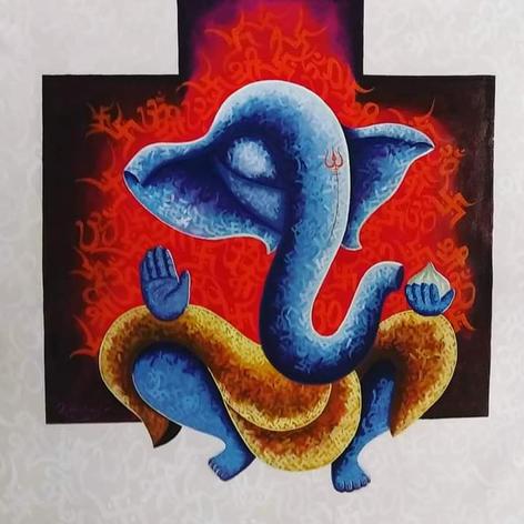 Artist Kirtiraj Mhatre