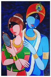Artist Santosh Dangare