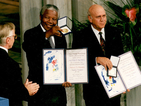 Year Eleven History: Did de Klerk Deserve a Peace Prize?